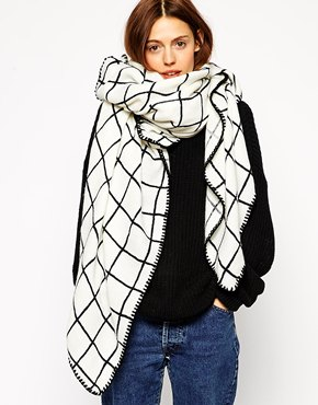 From $15 Oversized Scarf @ ASOS