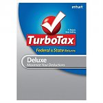 $40 Intuit TurboTax Deluxe Federal + State + eFile 2011 + 16GB USB Flash Drive