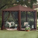 $112.49 Waterproof 13' Hexagon Gazebo