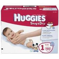 $16.42 - $44.95 HUGGIES Snug & Dry Diapers (Choose Your Size)
