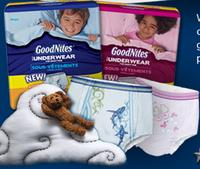 FREE Huggies! GoodNites Underwear Sample Pack