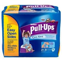 $16.99 Huggies Pull-Ups Cool Alert Training Pants, Boys Size 2T-3T Unit Count: 58