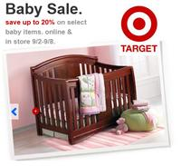 Up to 20% Off Baby Gear at Target 
