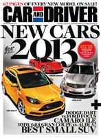 Car and Driver Magazine one year (12 issues) subscription