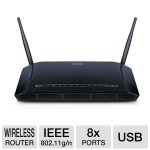 D-Link DIR-632 Wireless 8-Port Router - N300