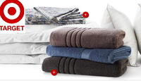 Target Bed & Bath White Sale:  Pillows and Bath Towels from $4 + free shipping w/ $50