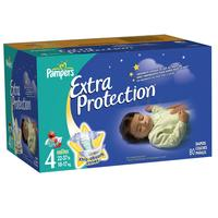 Pampers Extra Protection Diapers Big Pack Size 4 Unit Count 80