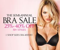 25% to 40% off Victoria's Secret Clearance Sale