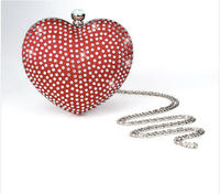 $27.99+Free Shipping, Charming Hard Case with Rhinestone Clutch/Evening/Party Bag/Handbag(3 Colors) @360Buy US