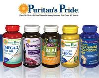 15% Off Select Items @ Puritans Pride