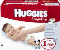 $2 off  + extra $15 off 2 cases Huggies diapers @ Diapers.com