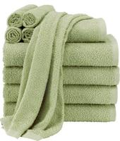 $12.99 10-Piece 100% Cotton Towel Set