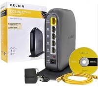 $18.99 Belkin Connect 802.11n WiFi 4-Port Router