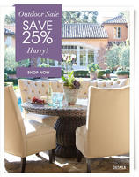 25% OFF  on Outdoor Products Sale @Horchow
