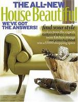  House Beautiful Magazine one year (10 issues) subscription