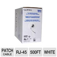 Ultra 500FT 350MHz Unshielded Twisted Pair CAT5e Stranded Patch Network Cable