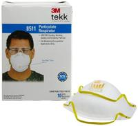 $13 3M 8511 Particulate Sanding N95 Respirator with Valve, 10-Pack