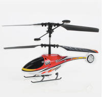 $13.94 2 Channel Metal/Plastic Mini RC Helicopter - Red