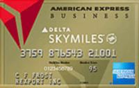 Earn 30,000 bonus miles and $50 statement credit, Learn How: Gold Delta SkyMiles® Business Credit Card from American Express