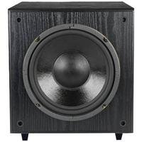 Pinnacle Speakers SUB-SONIX 10-200 10-Inch 200 Watt Front Firing Powered Subwoofer (Black)
