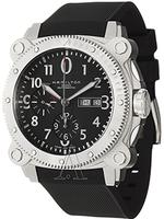 $699 Hamilton Men's Khaki Navy Automatic Chrono Watch