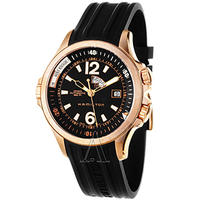 $599 Hamilton Men's Khaki Navy GMT Watch
