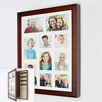 $24.99 Wood Collage Frame Jewelry Wall Cabinet