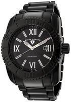 $88 Swiss Legend Men's Commander Black Dial Black Ion Plated Stainless Steel
