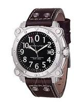 $429 Hamilton Men's Khaki Navy BeLOWZERO Auto Watch H78555533