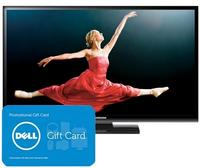 "$399.99 Samsung 43"" 600Hz Plasma HDTV/$50 Dell GC"