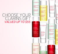 Free 2 Deluxe Travel Size Samples (up to $55 value)  With Any $75 Clarins Purchase @ Nordstrom