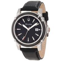 $114  Bulova Men's Strap Watch