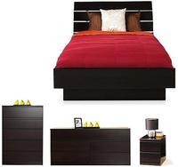 $485.97 Laguna Queen 4-Piece Bedroom Set