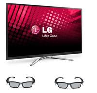 $1099.99 LG 60PM9700 60-inch Full HD 1080p 600Hz Plasma 3D Smart TV w/Two 3D Glasses