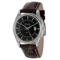 $549 Hamilton Men's Jazzmaster Traveler GMT Watch