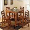 $174.99 Jaclyn Smith Faux Marble 5-Piece Dining Set