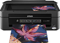  Epson - Stylus Small-in-One Wireless All-In-One Printer - NX230