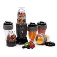 Maxi-Matic EPB-1800 Black Elite Cuisine 300-Watt 17-Piece Personal Blender