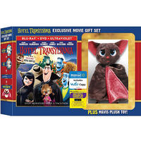 $24.96 Hotel Transylvania (Blu-ray + DVD + Plush Toy)