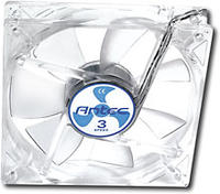 $3.99 Antec TriCool 120mm Clear Cooling Fan