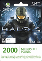 $24.99 Microsoft Xbox LIVE 2,400 Points Card