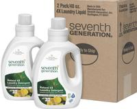 $16.79 Seventh Generation Laundry 4x 40-oz. 2-Pack