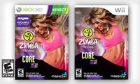  Zumba Fitness Core for Wii or for Kinect Xbox 360