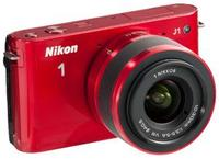 $217.95 Refurb Nikon 1 J1 10MP Mirrorless Camera w/ lens