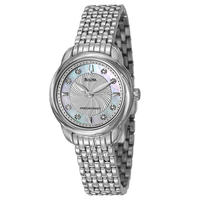 $139 Bulova Women's Precisionist Watch 96P125