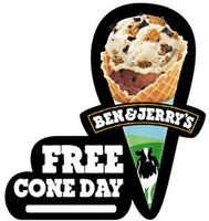 Free Ice Cream Cone  at Ben & Jerry's