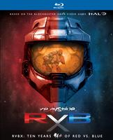 $42.49包邮 RVBX: Ten Years of Red Vs. Blue DVD套装