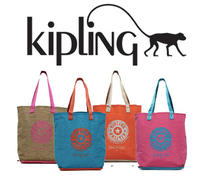 Free Hip Hurray Tote($39 Value)   with any Purchase of $75 or more @Kipling USA