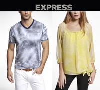 FLASH SALE Tonight!  40% OFF EVERYTHING (including Clearance) @Express