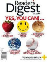 Reader's Digest Magazine one year (12 issues) subscription